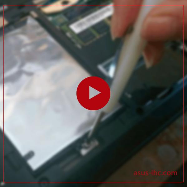 آموزش تعمیر هارد لپ تاپ ایسوس