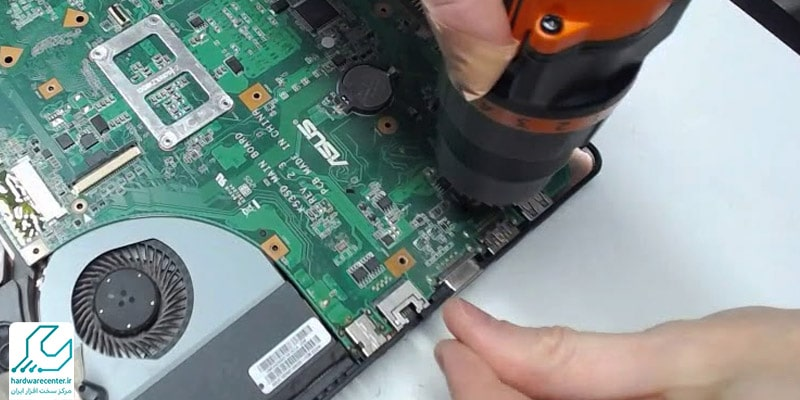 تعمیر برد پاور لپ تاپ
