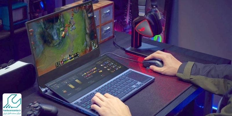 لپ تاپ گیمینگ asus مدل Zephyrus Duo 15