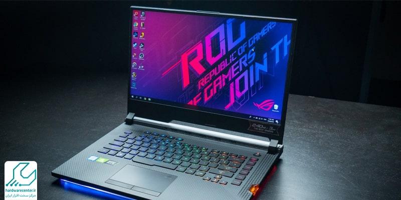 بهترین لپ تاپ های گیمینگ ایسوس : لپ تاپ گیمینگ Asus ROG Strix Scar III