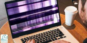 شطرنجی شدن صفحه لپ تاپ ایس