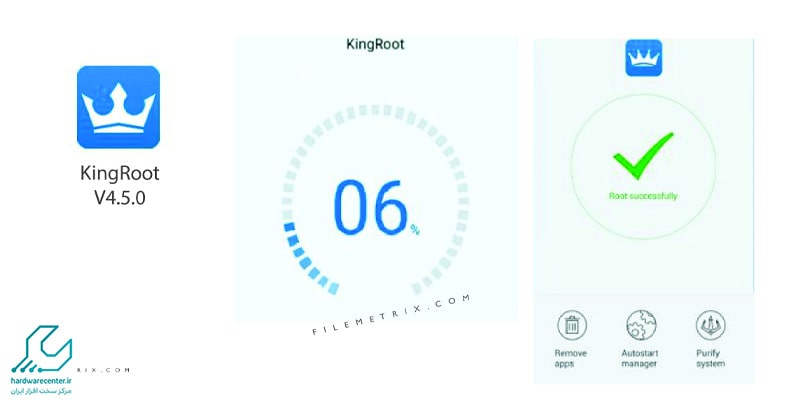آموزش روت کردن تبلت ایسوس با نرم افزار Kingroot و